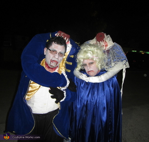 Headless Marie Antoinette and King Louis Costume