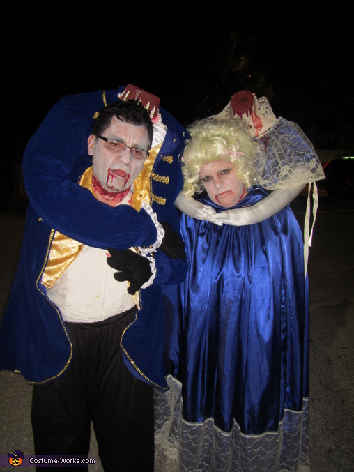 Headless Marie Antoinette and King Louis Homemade Costume