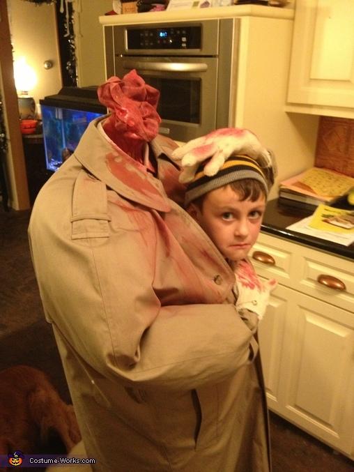 Headless Person Costume