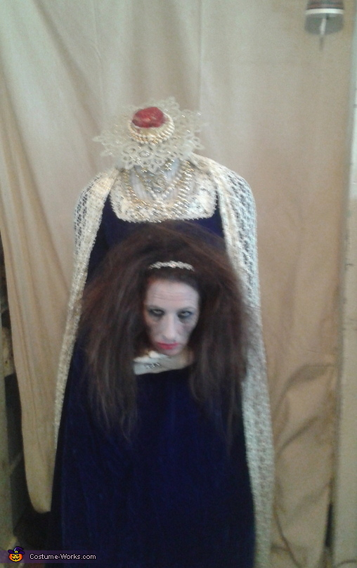 Headless Queen Homemade Costume
