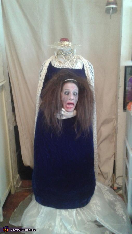 Headless Queen Homemade Costume