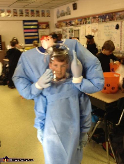 Headless Surgeon Costume