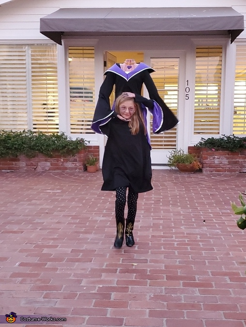 Headless Witch Costume