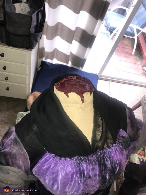 Headless Woman Homemade Costume