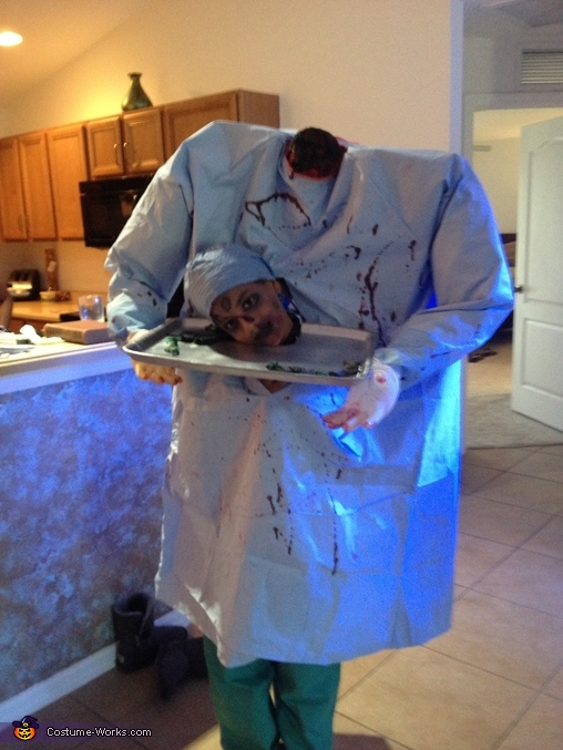 Headless Zombie Doctor Costume