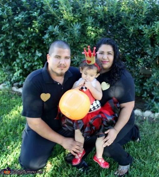 Hearts Family Costume