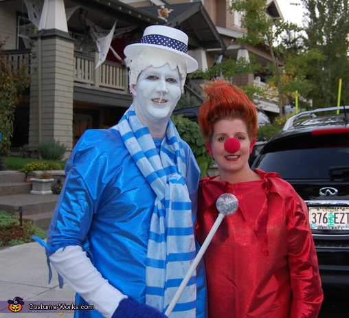 Heat Miser & Snow Miser - Homemade costumes for couples