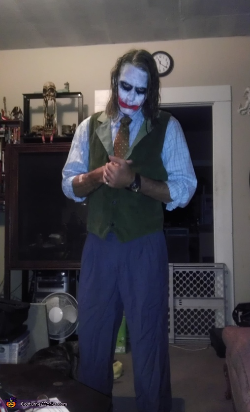 Heath Ledger Joker Costume