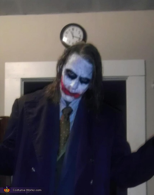 'Lets put a amile on that face' Heath Ledger, TDO, Heath Ledger Joker Costume