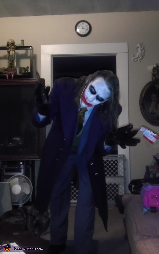 My tribute to Heath Ledger, Heath Ledger Joker Costume