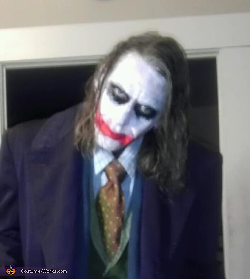 'Why So Serious?' Heath Ledger, TDK, Heath Ledger Joker Costume