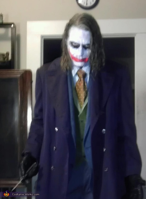 Heath Ledger Joker Costume Photo 5 5