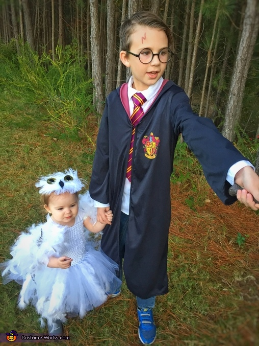 Hedwig and Harry Potter Costume