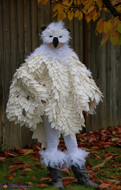 Hedwig the Snowy Owl Costume