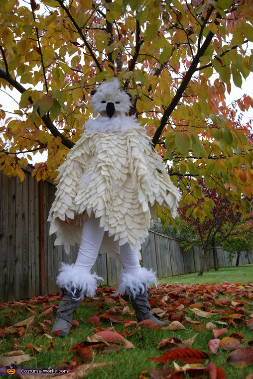 Hedwig loves fall! , Hedwig the Snowy Owl Costume