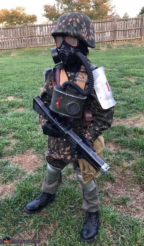 Helghast Army Fallschirmjager Costume