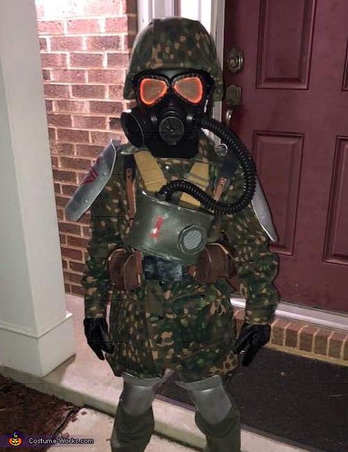 Helghast Army Fallschirmjager Homemade Costume