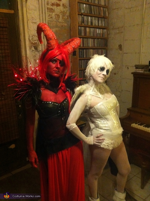 Heaven and hell party costume ideas