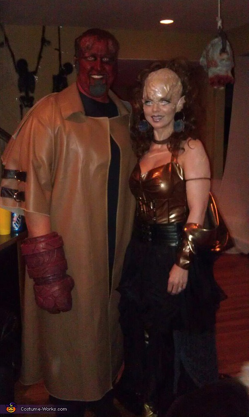 hellboy and the alien costume