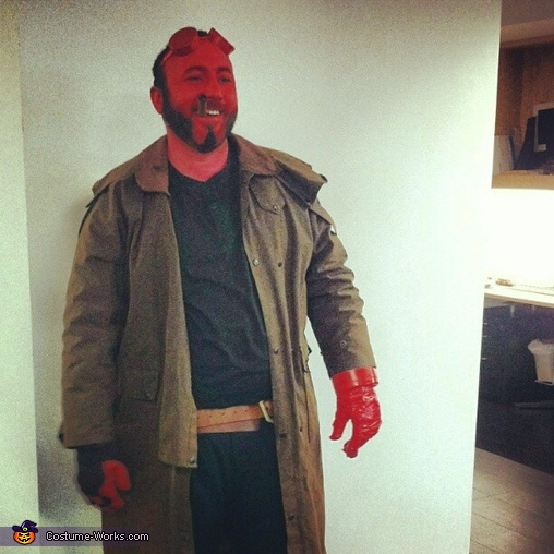 Hellboy, Hellboy Costume