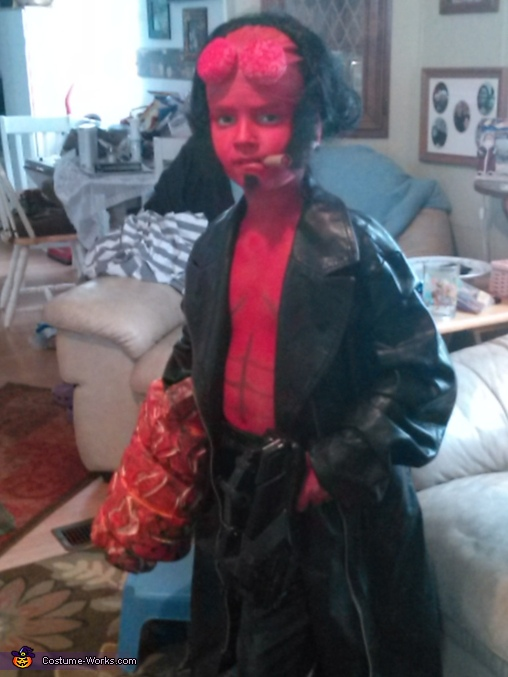 hellboy hellboy costume