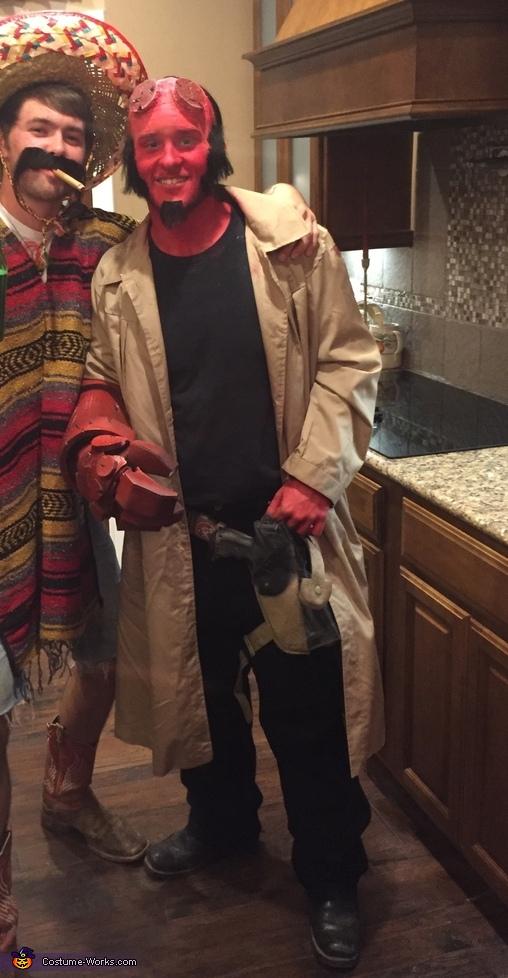 Hellboy Homemade Costume