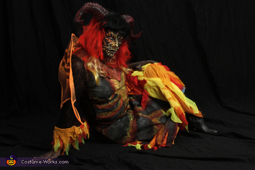 Hellfire N Brimstone, Hellion Demon Costume
