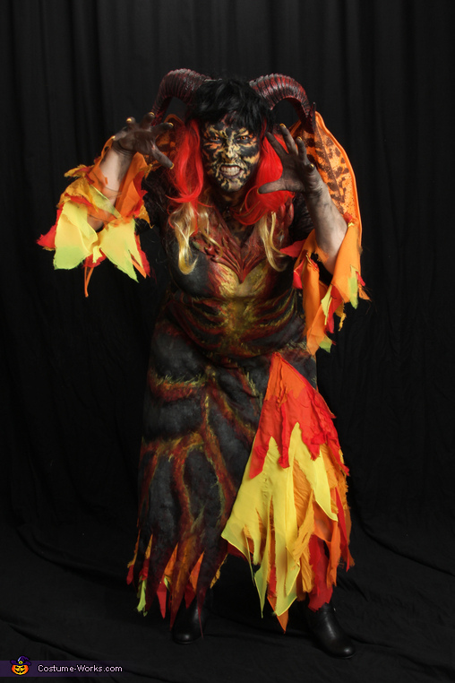 Horns are hot, Hellion Demon Costume