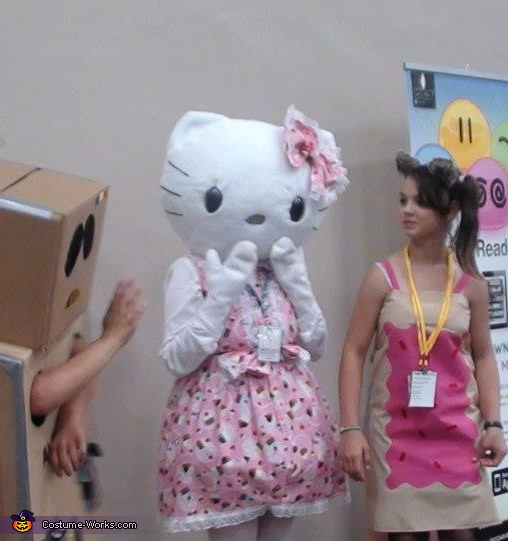 Womens Hello Kitty Costume