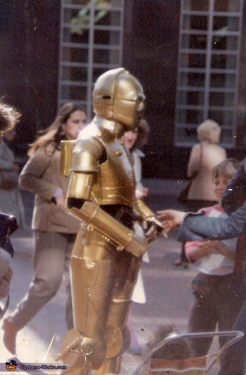 Homemade C3PO Costume