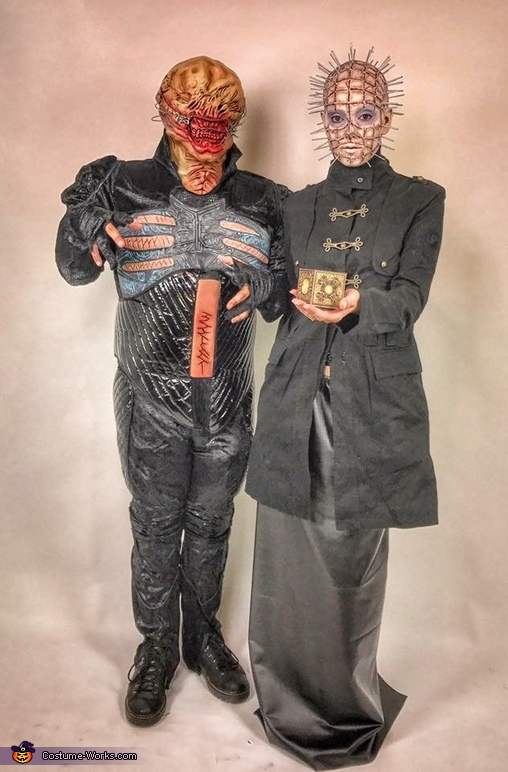Hellraiser Pinhead and Chatterer Costume