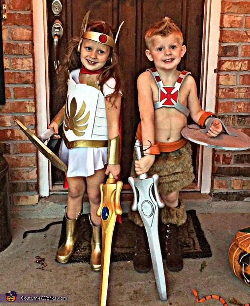 Heman and Shera Costume