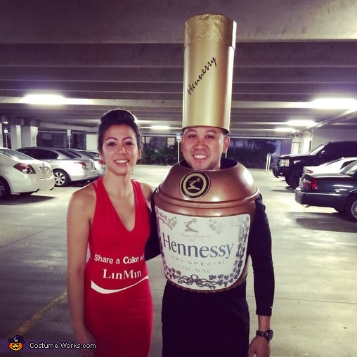 Henny and Coke Costume