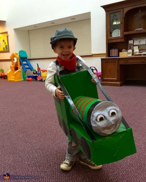 Ready for School Halloween Party!, Henry the Train Engine with Engineer Costume
