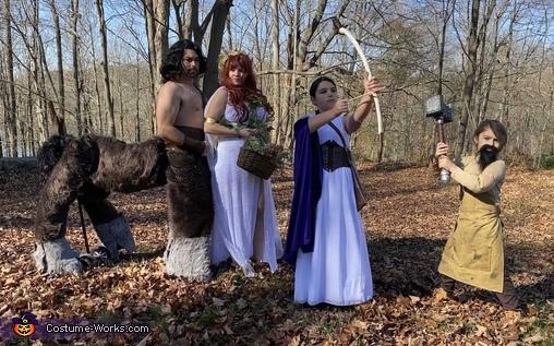 Hera's Wrath Costume