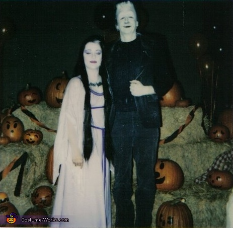 Herman and Lily Munster, Herman and Lily Munster Couple Costume