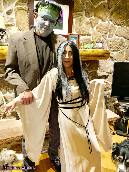 Herman and Lily Munster, Herman and Lily Munster Costume