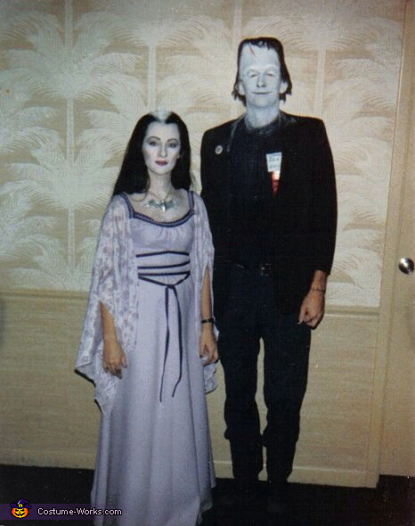 Herman and Lily Munster Couple Costume