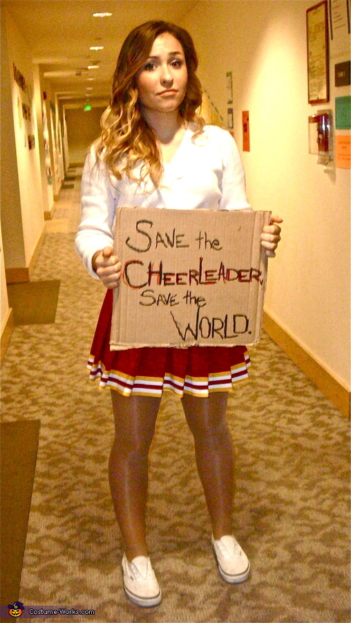 Heroes Cheerleader Costume