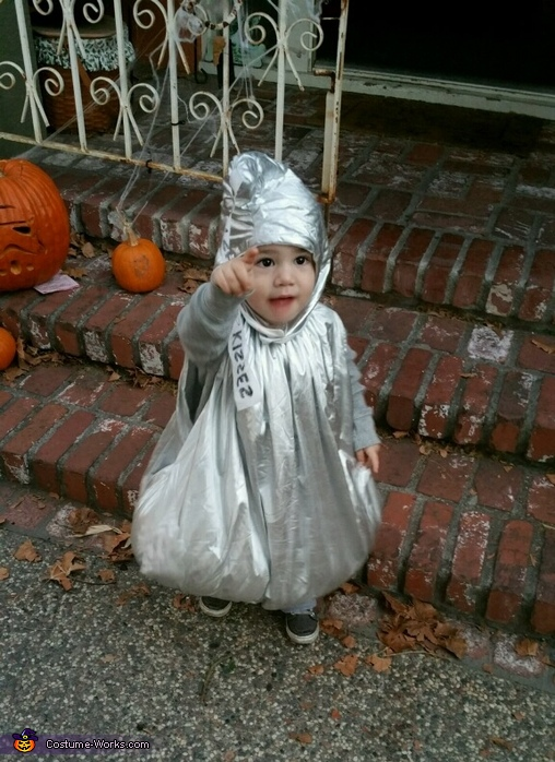 Hershey Kiss Homemade Costume