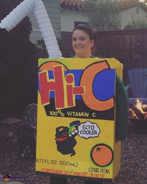 Hi-C Ecto Cooler Juice Box Costume