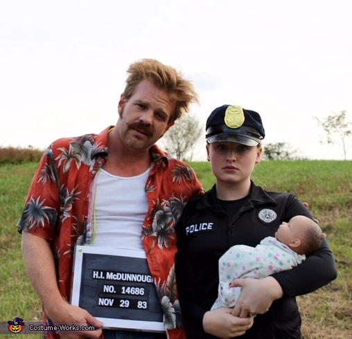 "H.I. and Edwina McDunnough from ""Raising Arizona"" Costume"