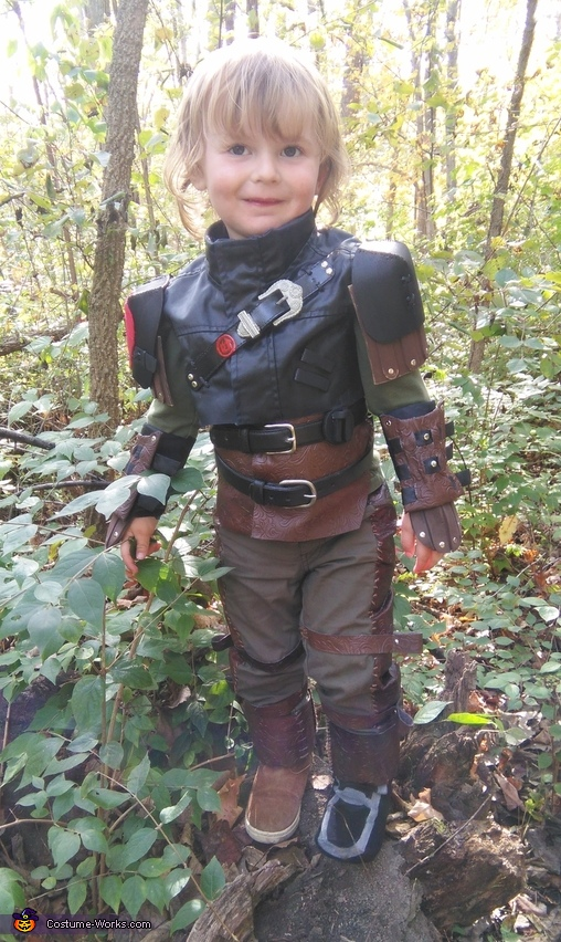 Hiccup from How to Train Your Dragon 2 Costume