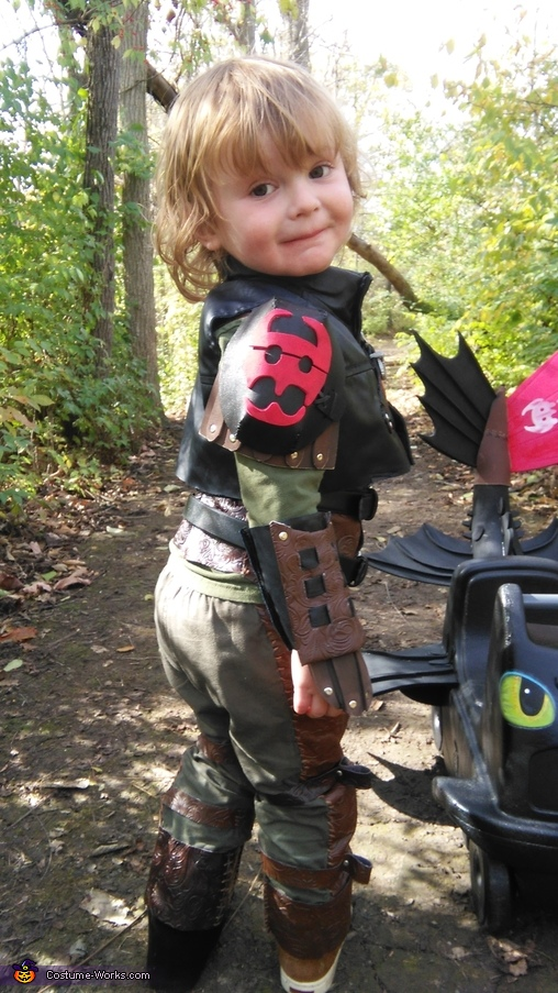 Hiccup From How To Train Your Dragon 2 Costume No Sew Diy Costumes Photo 4 6