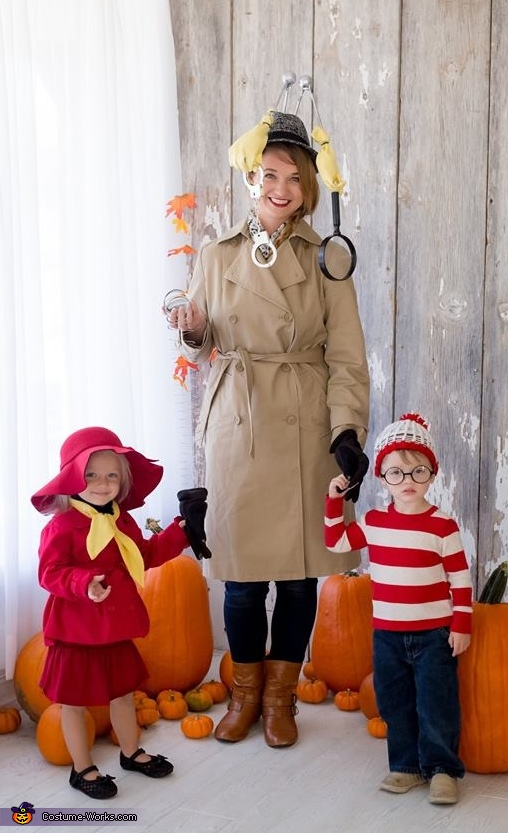 Hide N Seek Family Halloween Costume