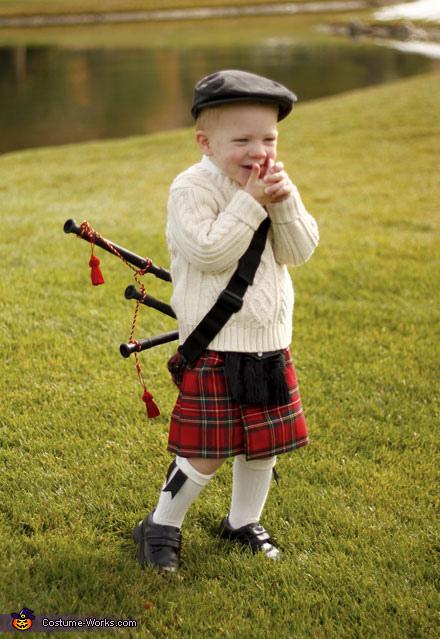Scottish Highlander - Homemade costumes for boys