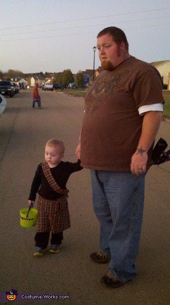 Highlander Baby Costume