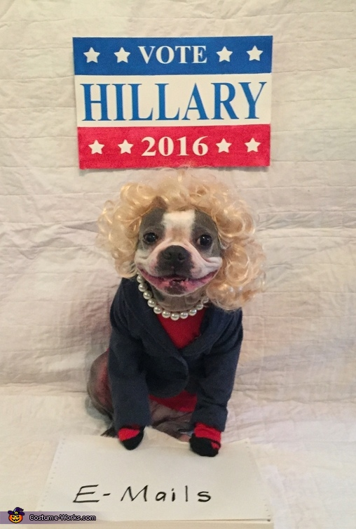 Hillary, Hillary and Trump Costume