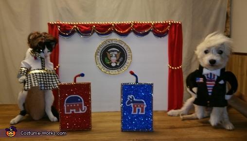 2017 Presidential Debate Costume
