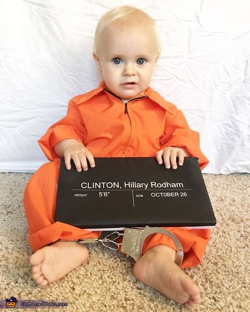Hillary For Prison '16 Costume